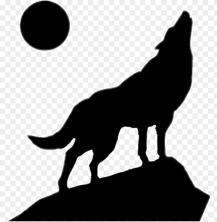 scsilhouette silhouette wolf moon wolf howling silhouette