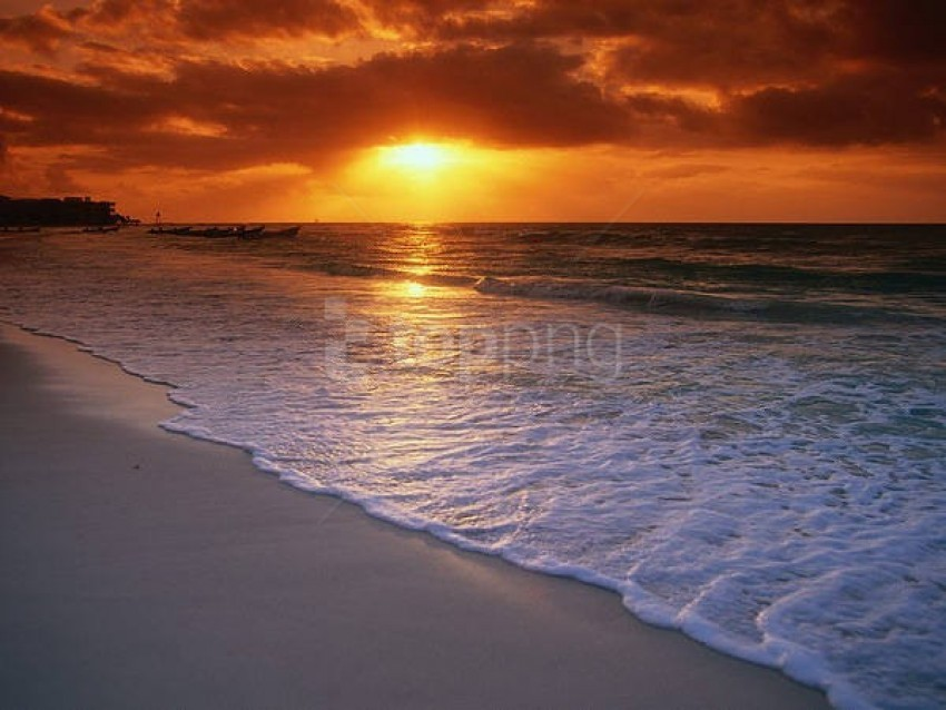 sea beach sunset background best stock photos | TOPpng