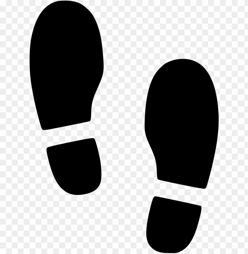 free PNG shoes foot step footsteps - foot step icon free PNG image with transparent background PNG images transparent