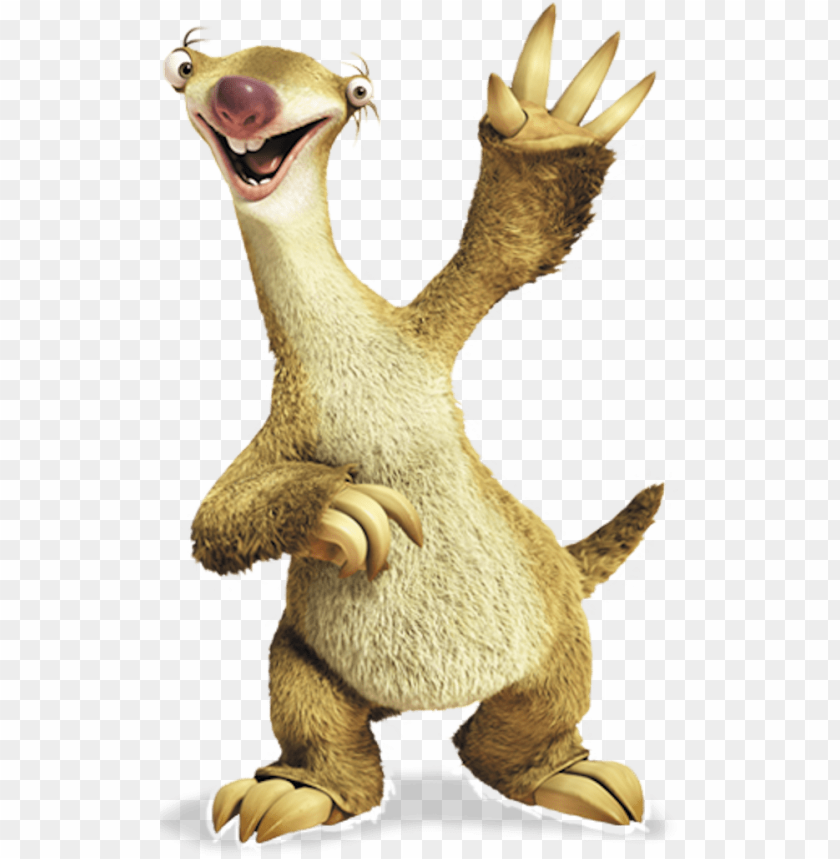 free PNG sid - sid ice age PNG image with transparent background PNG images transparent