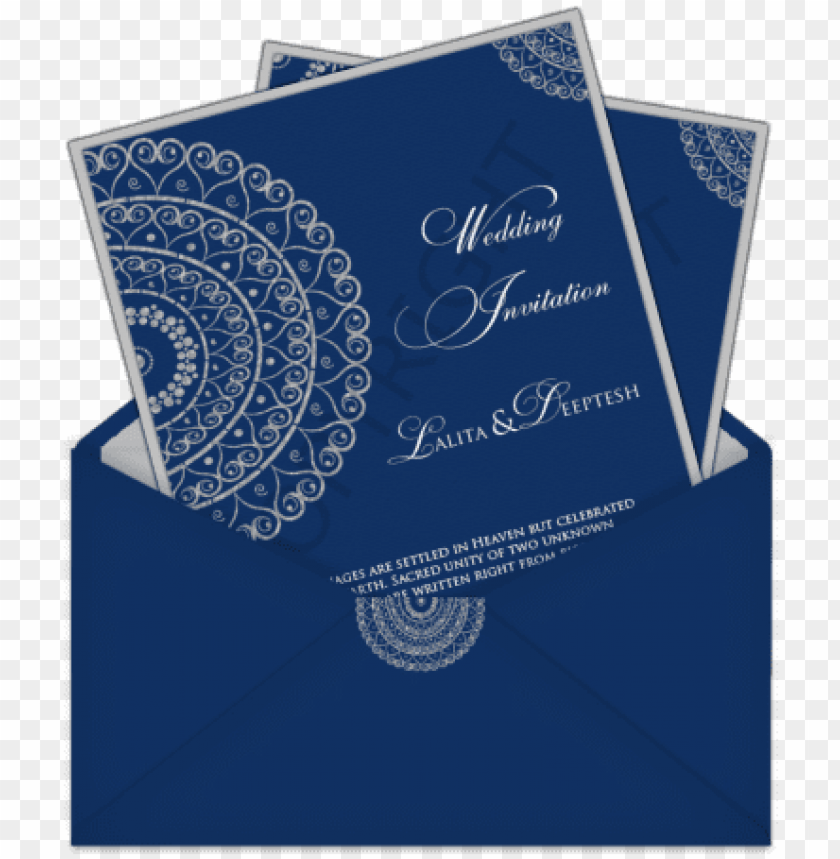 Simple Wedding Card Designs Png Image With Transparent