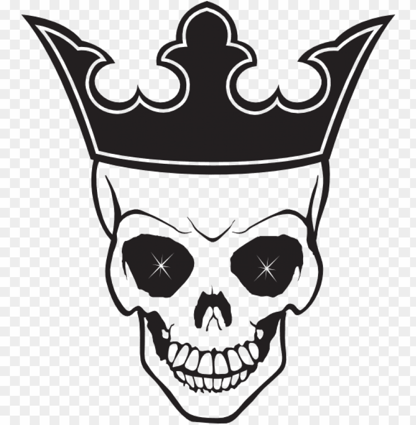 free PNG skull and crown tattoo PNG image with transparent background PNG images transparent