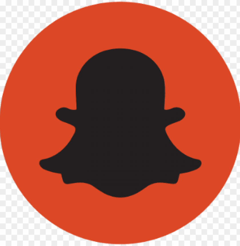 snapchat logo black vector PNG image with transparent