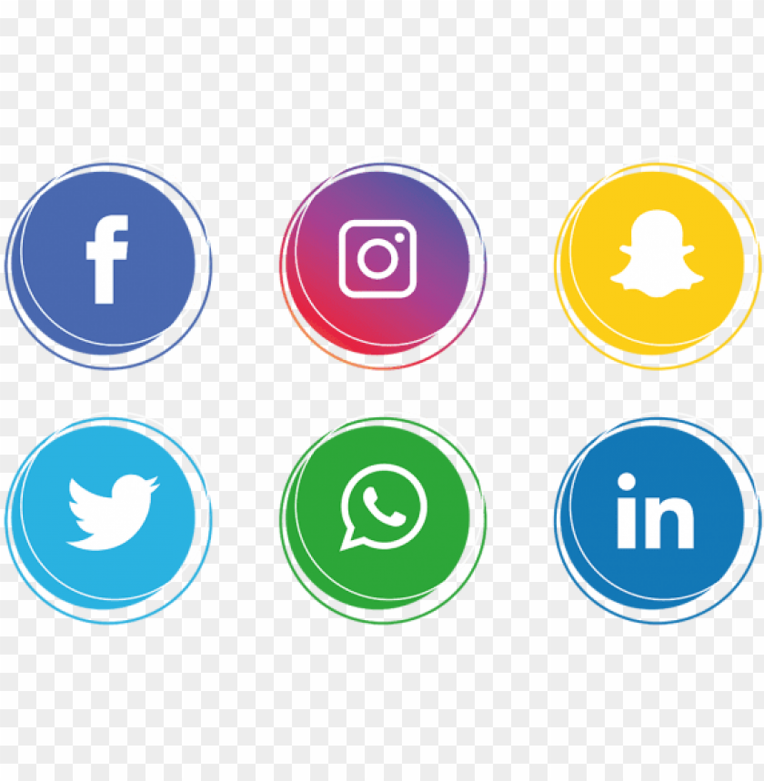 free PNG social media icons set - social media icons PNG image with transparent background PNG images transparent
