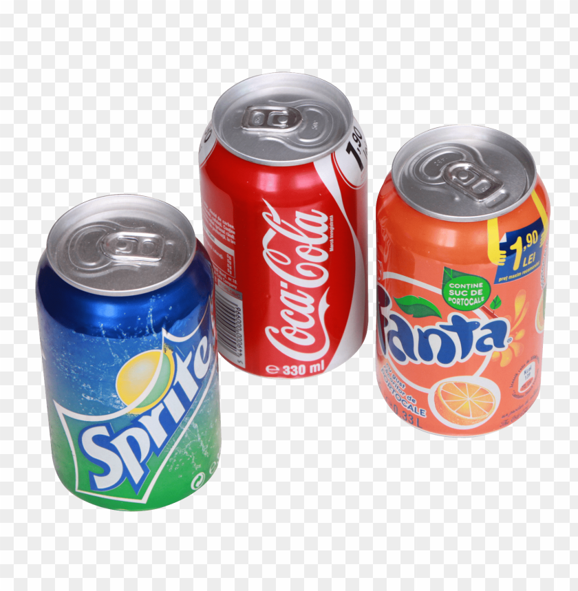 Clear Drink Cans