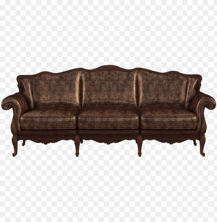 free png sofa furniture couch old PNG images transparent