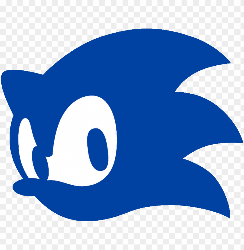 Sonic Head Icon Sonic The Hedgehog Ico Png Image With Transparent Background Toppng