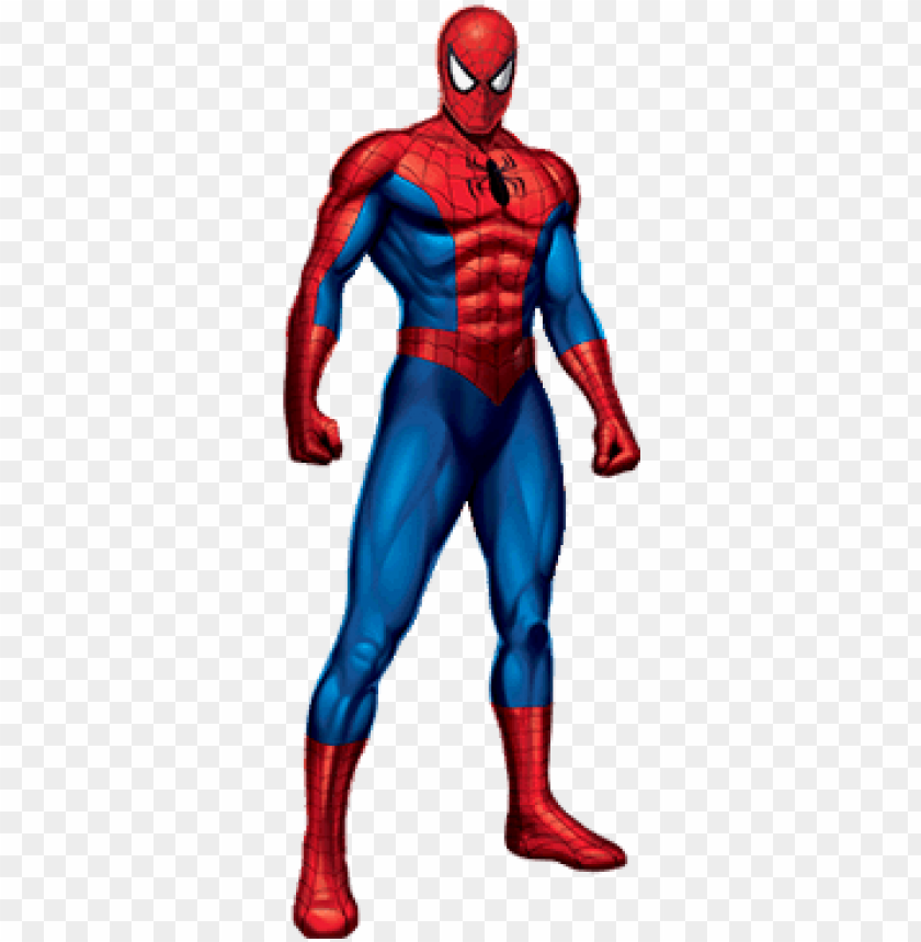 Spider Man Standing Transparent Background Png Mcu