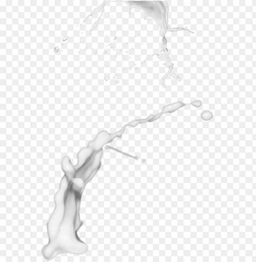 free PNG splatter vector milk - milk splash transparent PNG image with transparent background PNG images transparent