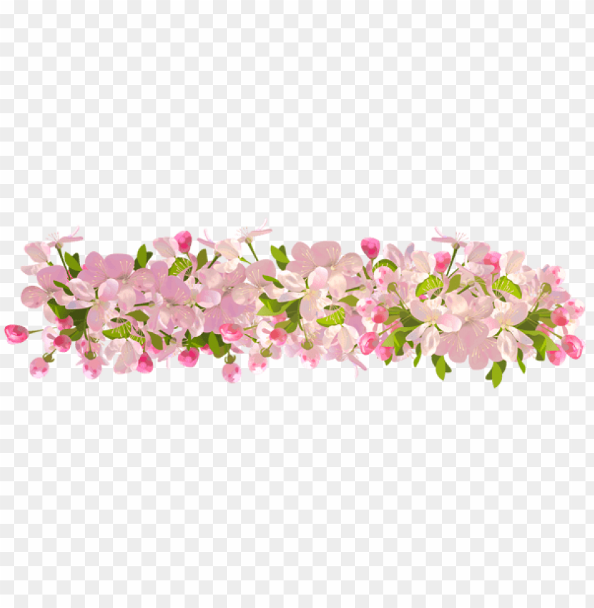 Download spring decoration transparent png images background@toppng.com