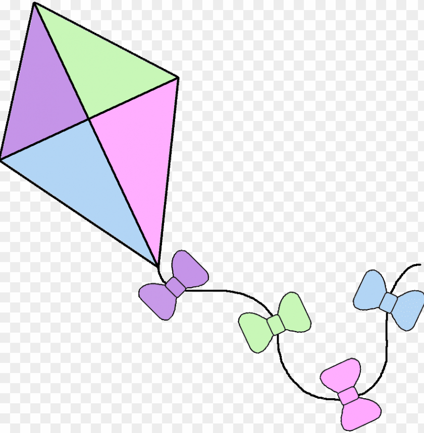 free PNG spring kites borders- spring kite PNG image with transparent background PNG images transparent