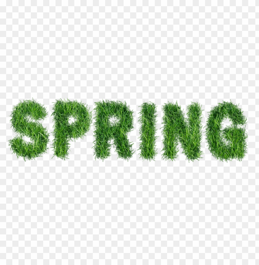 free PNG Download spring with grass text png images background PNG images transparent