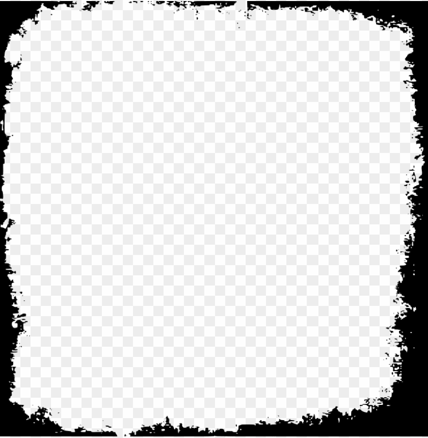 square frame image - square grunge frame PNG image with transparent background@toppng.com