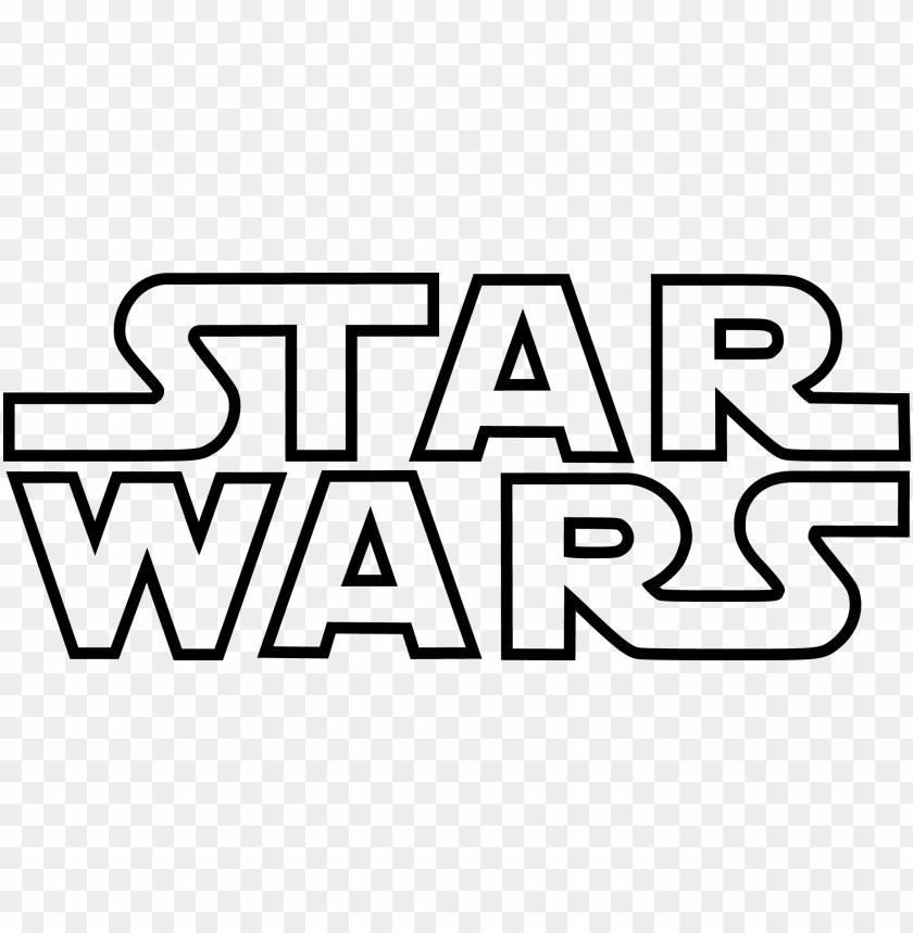 Star Wars Logos Icons Vector Star Wars Felirat Keszites Png