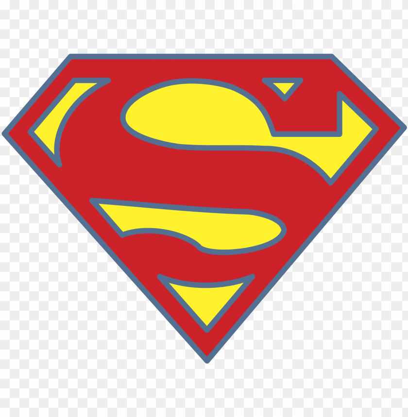 Superman Logo Png Transparent Super Man Logo No Background