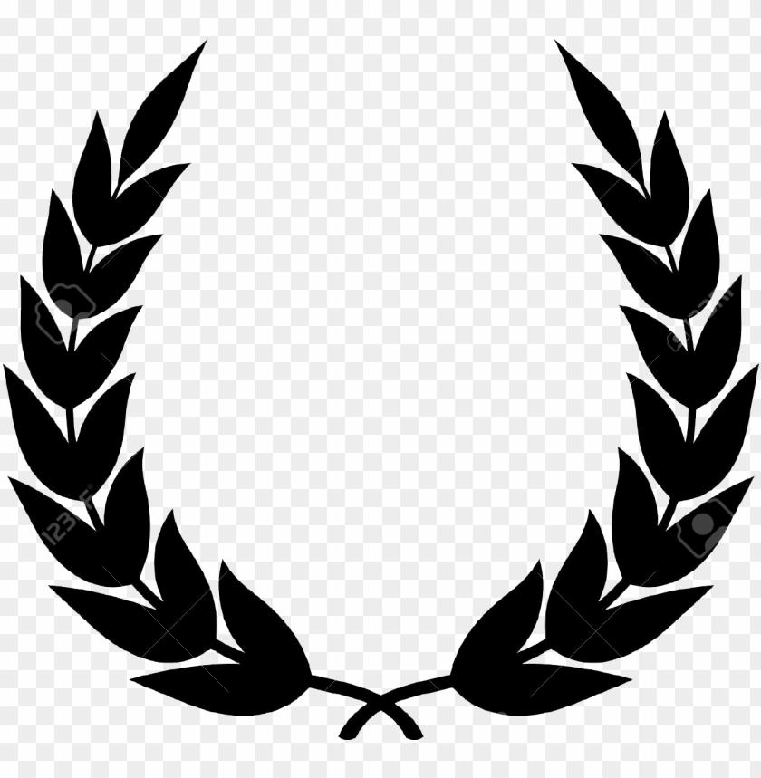 free PNG svg free library laurel clip art - laurel wreath vector PNG image with transparent background PNG images transparent