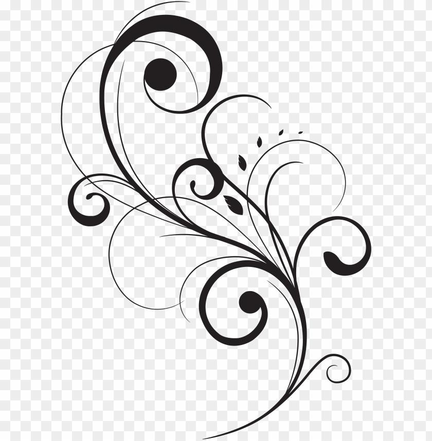 swirl drawing stencil huge freebie download for powerpoint