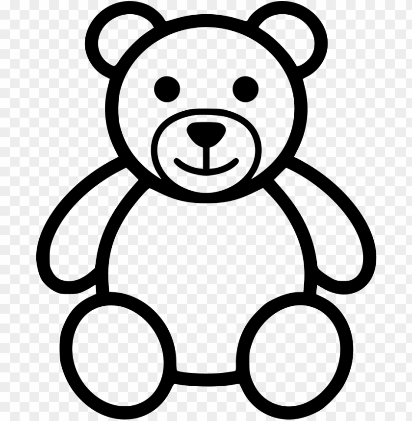 Teddy Bear Svg Png Icon Free Download Teddy Bear Vector Ico Png Image With Transparent Background Toppng
