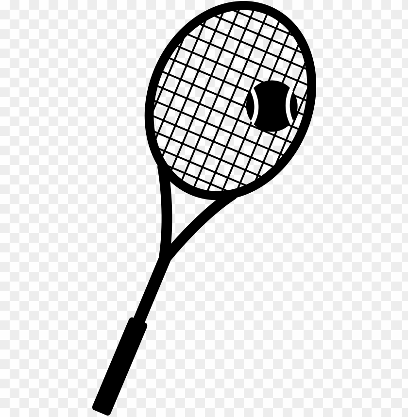 tennis racket and ball silhouette - pink tennis racket and ball PNG image with transparent background@toppng.com