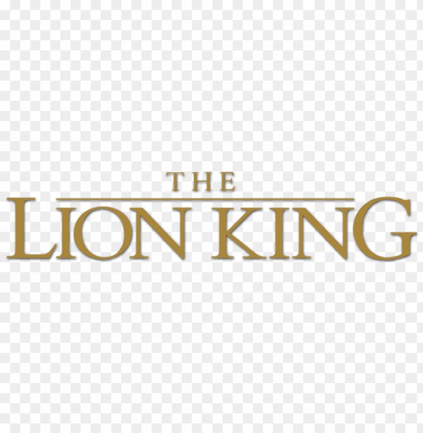 free PNG the lion king 2019 logo png transparent PNG image with transparent background PNG images transparent