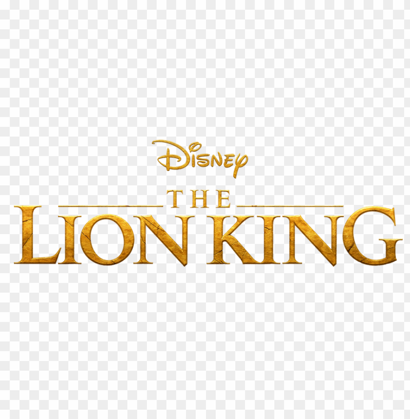free PNG the lion king 2019 logo png PNG image with transparent background PNG images transparent
