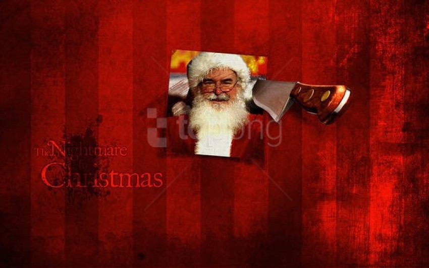 free PNG the nightmare for christmas with santa background best stock photos PNG images transparent