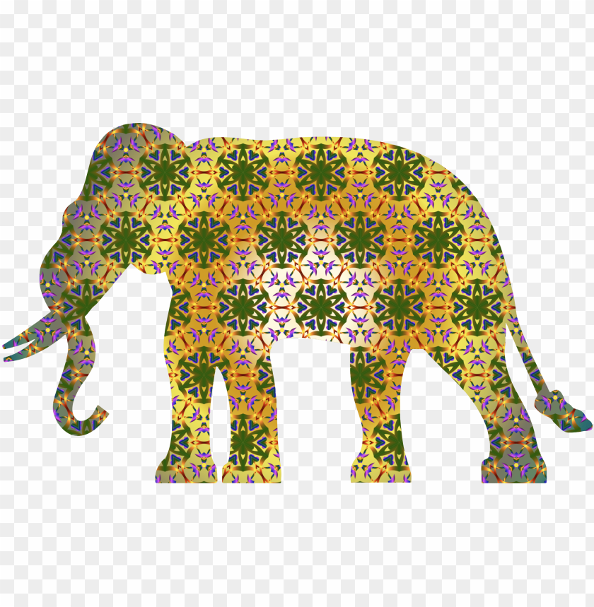 free PNG Download this free icons  design of psychedelic pattern elephant png images background PNG images transparent