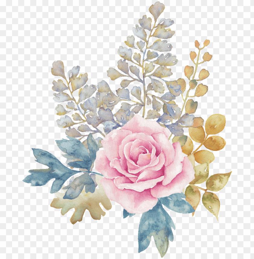 free PNG this graphics is pastel flower transparent decorative - transparent watercolor flower background png - Free PNG Images PNG images transparent
