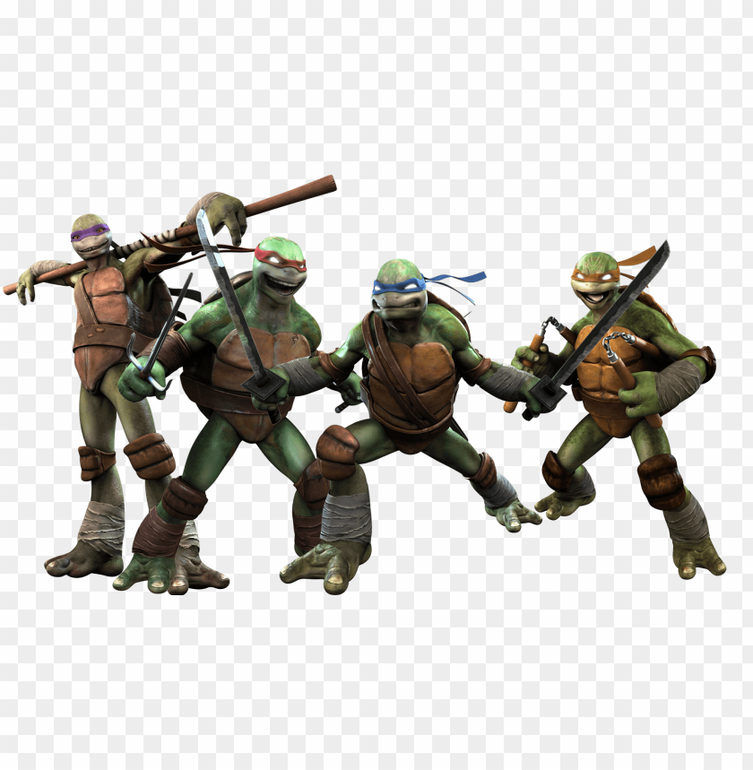 free PNG tmnt fighting group PNG image with transparent background PNG images transparent