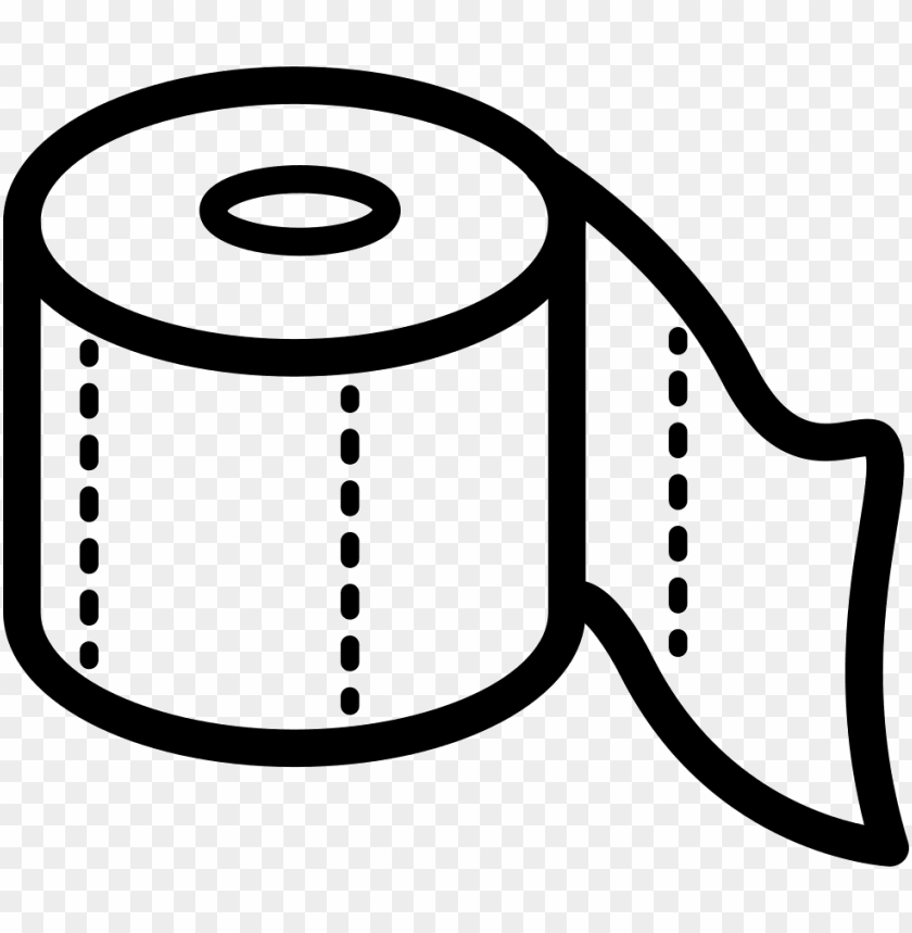 Toilet Paper Outline Png Image With Transparent Background Toppng