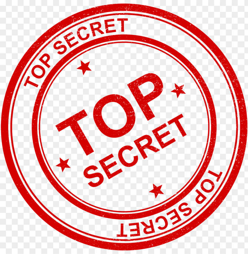 Free PNG Top Secret Stamp Images Transparent