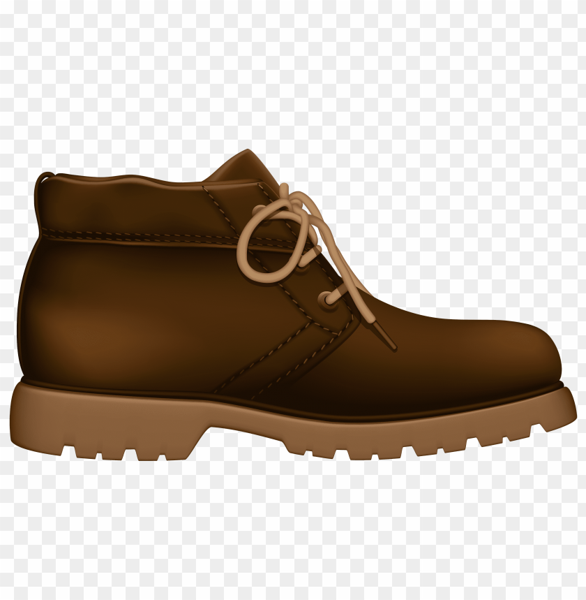 free png tourist brown shoe PNG images transparent