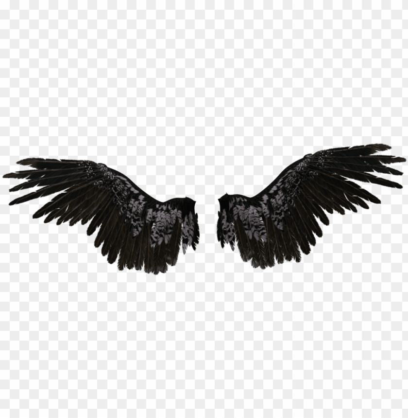 free PNG transparent angel wings - black angel wings transparent PNG image with transparent background PNG images transparent