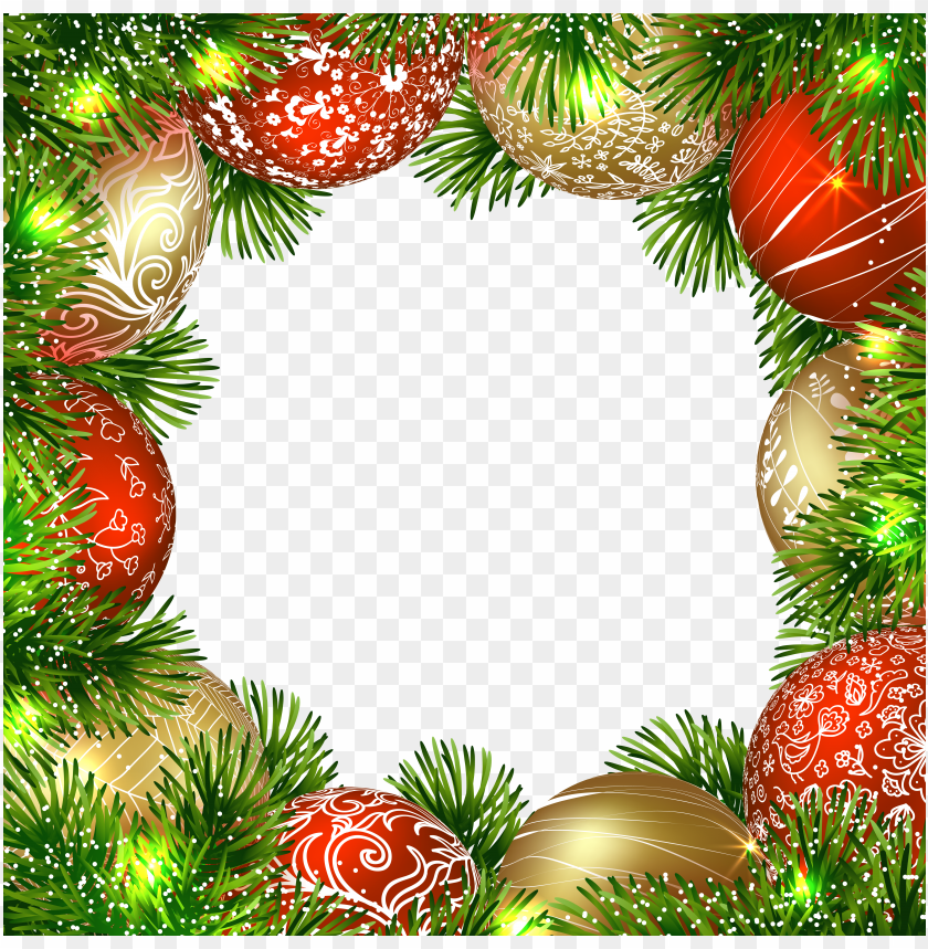 free PNG transparent christmas png border frame with ornaments background best stock photos PNG images transparent
