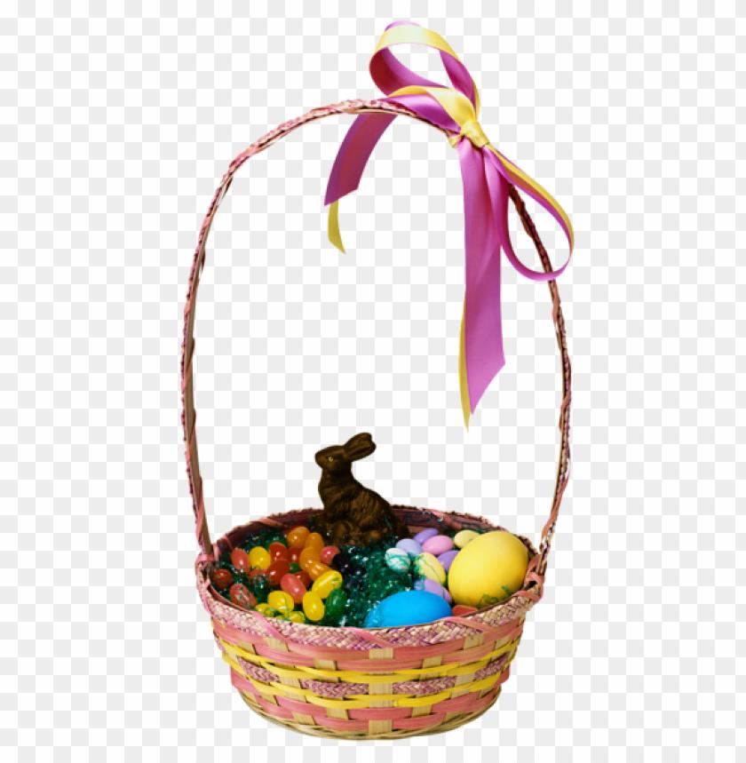 free PNG Download transparent easter basket and bunnypicture png images background PNG images transparent