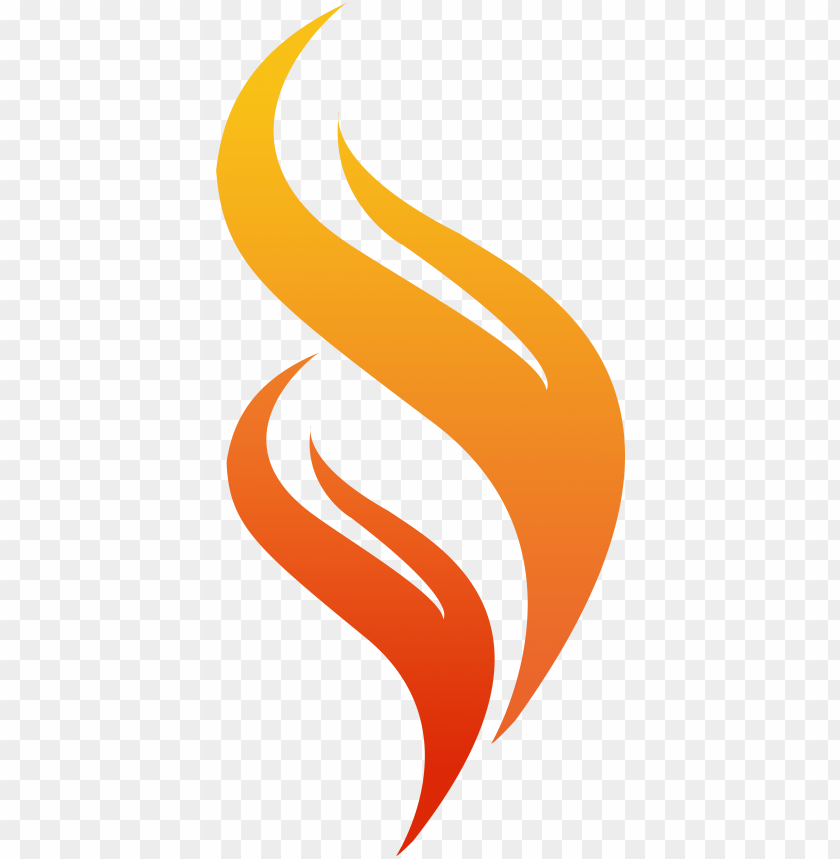 transparent flame logo - flame logo PNG image with