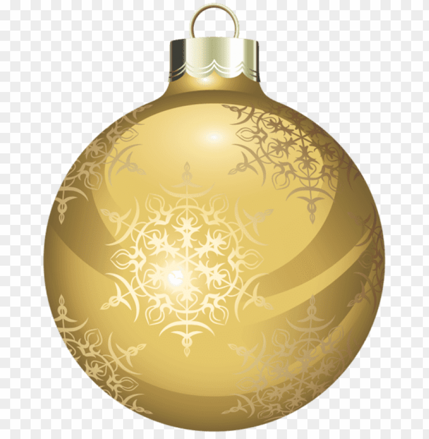 f813a796f70 free PNG transparent gold christmas ball png - Free PNG Images PNG images  transparent