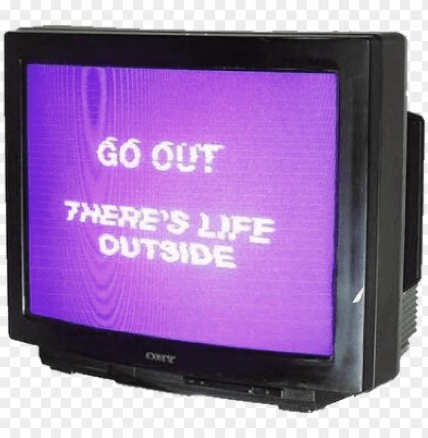 tv television life outside internet vhs glitch creepy