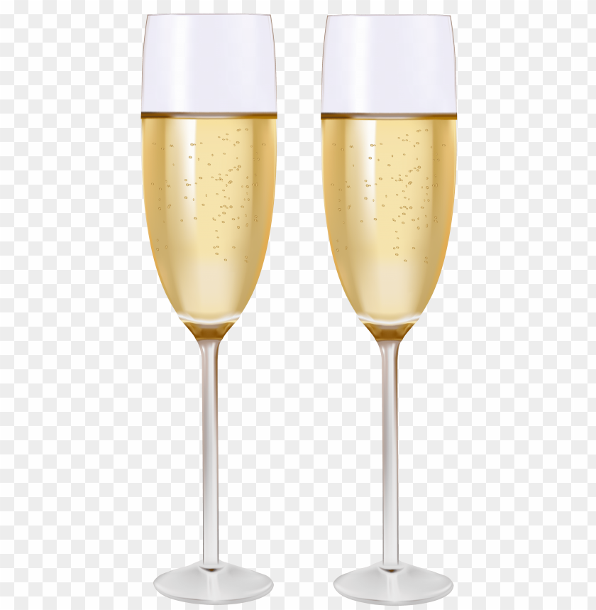 free PNG two glasses of champagne PNG images transparent