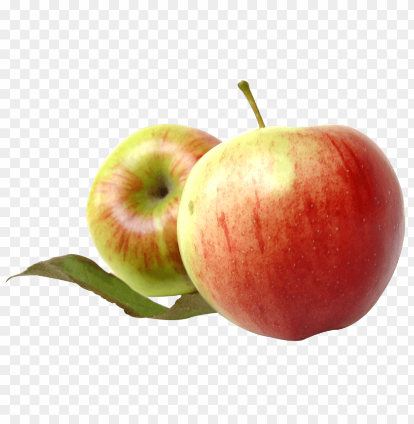 free PNG Two Red Apples with Leaves png - Free PNG Images PNG images transparent