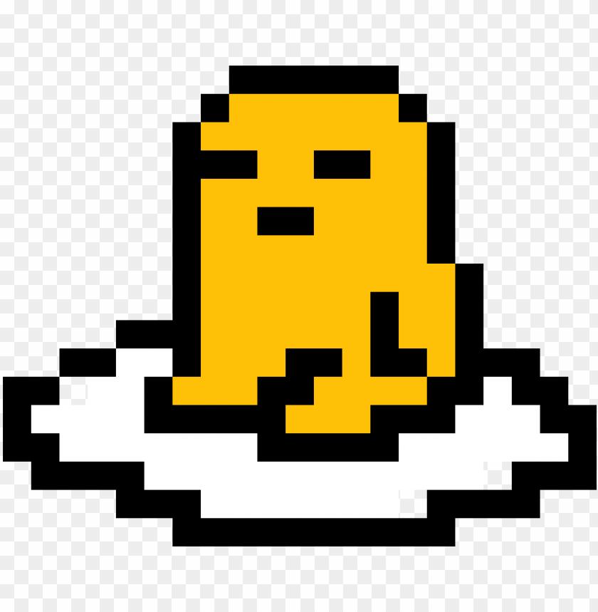 Udetama Pixel Art Pixel Art Gudetama Png Image With