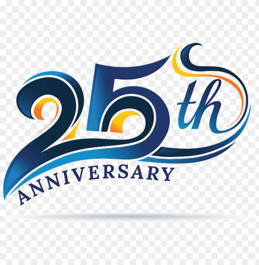 ukgsa 25th anniversary logo - 30th anniversary logo desi PNG