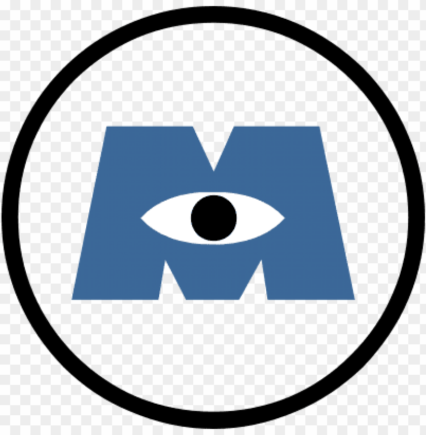 free PNG ut these on the doors everywhere - monsters inc logo PNG image with transparent background PNG images transparent