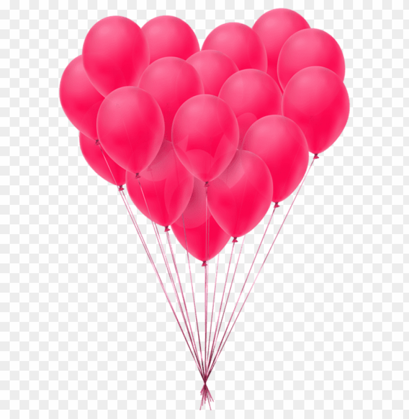 Valentine S Day Balloons Transparent Png Free Png Images Toppng