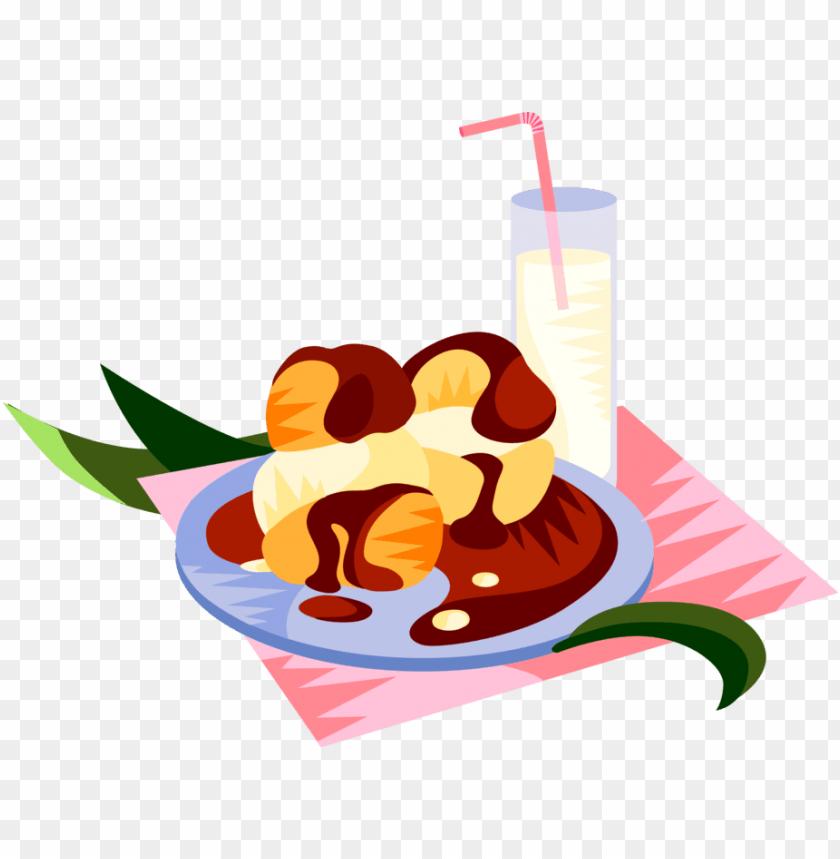 free PNG vector illustration of european cuisine french pastry - vector illustration of european cuisine french pastry PNG image with transparent background PNG images transparent