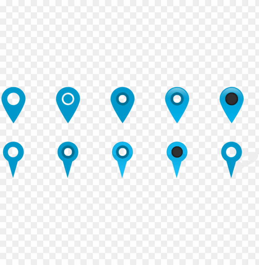 vector transparent free map marker pin icons the web