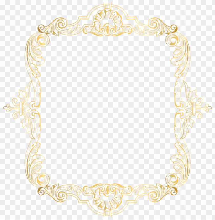 eab8c8dbd983 free PNG Download vintage border frame gold clipart png photo PNG images  transparent