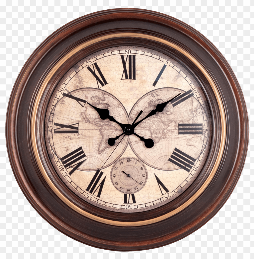 Free Png Vintage Wall Clock PNG Images Transparent