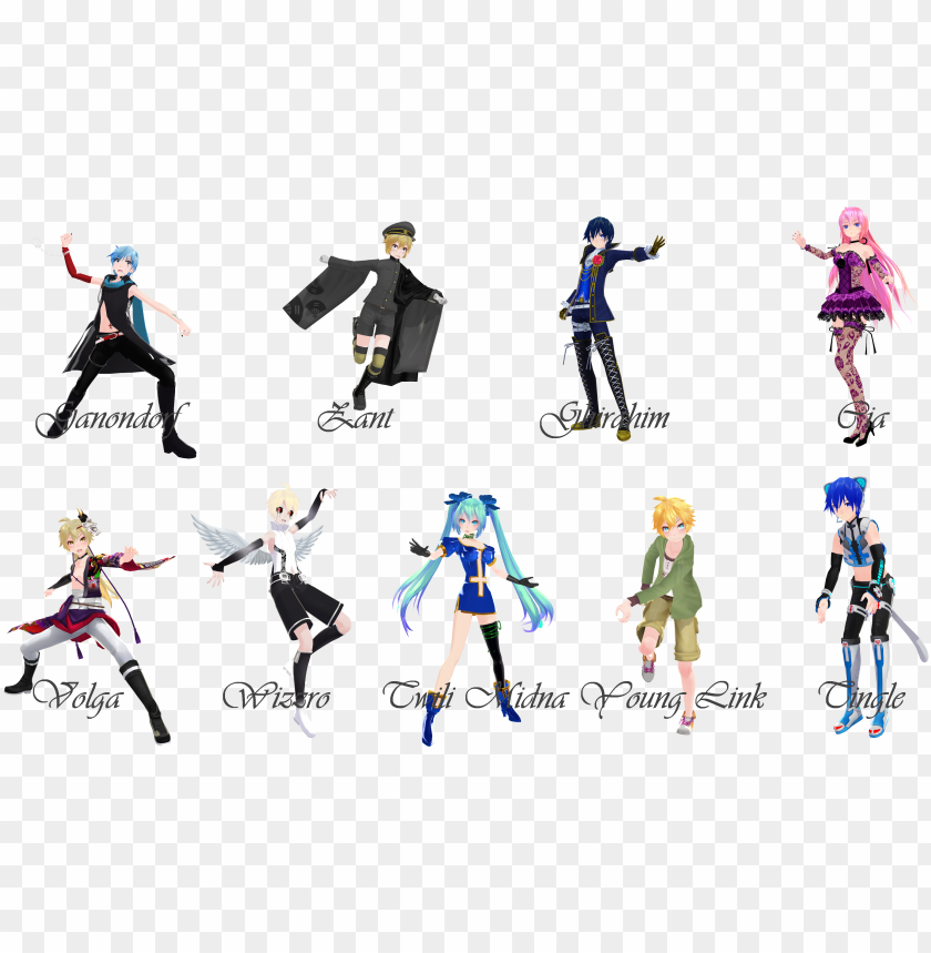 violetcrystal259 [mmd] hyrule warriors pose pack - mmd pose