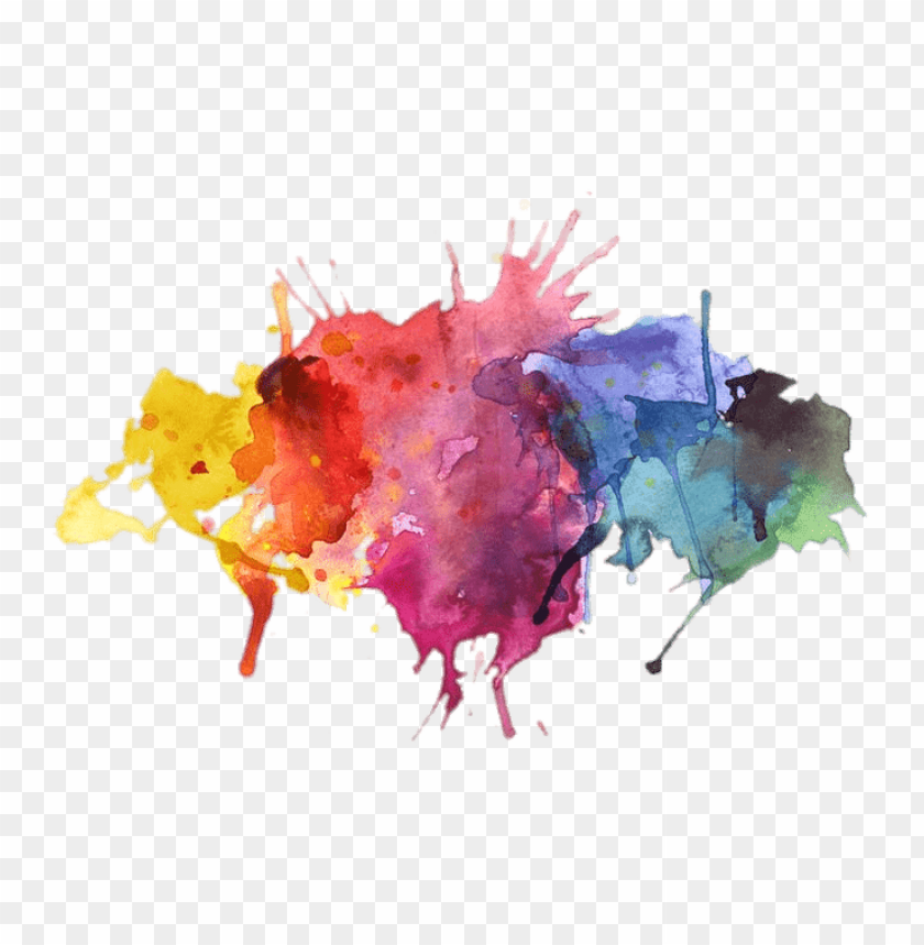 free PNG water colors paint splatter PNG image with transparent background PNG images transparent